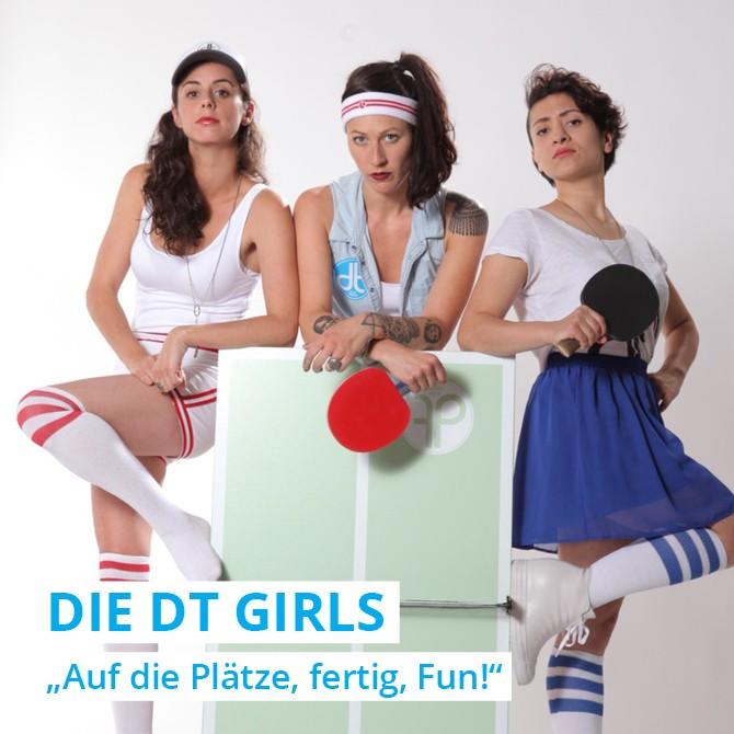 Ohne den DISH TENNIS GIRLS funktioniert kein Event, sie sind für den Turnierplan zuständig.