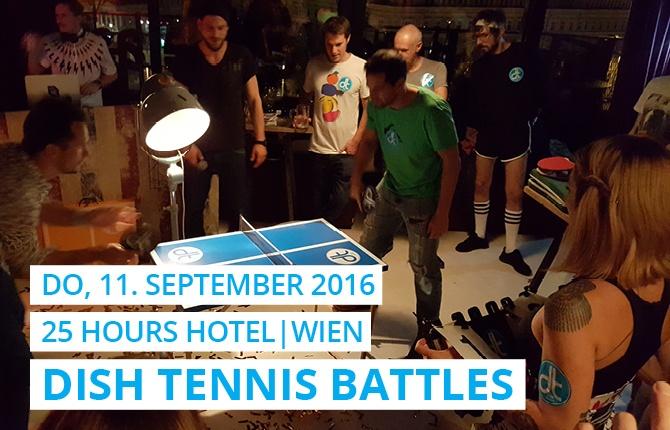 DISH TENNIS hat den Dachboden vom 25hours-Hotel eingeheizt.